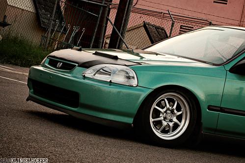 Honda Civic Hatchback Ek. Leroy my Midori Honda Civic EK