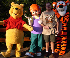 Pooh, Darby and Tigger (disneyphilip) Tags: darby winniethepooh characters tigger waltdisneyworld magickingdom fantasyland poohsplayfulspot