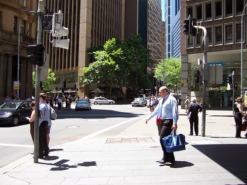 Hunter Street at the corner of Pitt Street Sydney