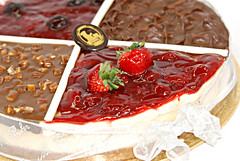 My birthday Cake (H.AL-SALEH) Tags: cake blackberry caramel kuwait mybirthday homestudio chocholate straberry nikond80 q817 kvwc kuwaitvoluntaryworkcenter  halsaleh