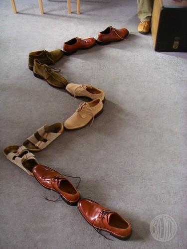 Toby's shoes