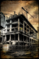 Just A Building Site (BarneyF) Tags: city building liverpool project site paradise center hdr selectiveorton superhearts