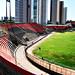 O estádio de futebol Adelmar da Costa Carvalho