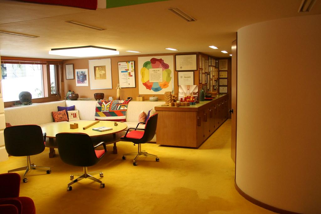 Alden B. Dow's home office
