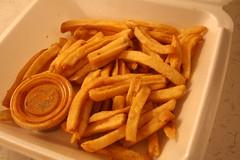 the fries in my fridge