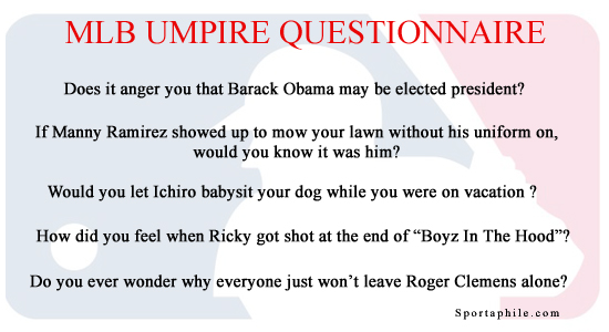 MLB Umpire Investigation