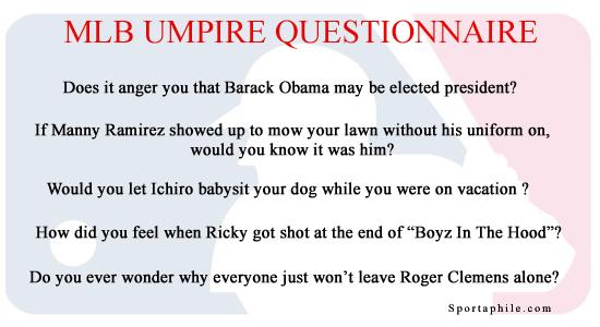 MLB Umpire Investigation