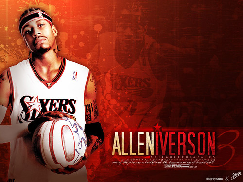 allen iverson wallpapers.  Allen Iverson Wallpaper 3