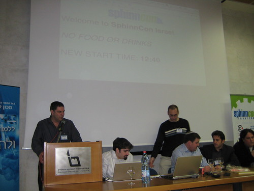 SphinnCon Israel 2008