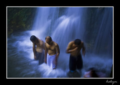 hot waterfall...(kymiothones treatment) (kymioflario) Tags: indonesia bandung hakym superbmasterpiece diamondclassphotographer betterthangood kymioflario avision kymiothones