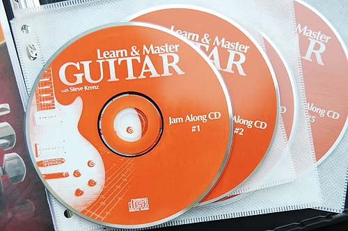 Learn and Master Guitar Jam Along CDs