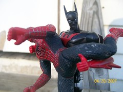 [Explored] Batman handles Spiderman