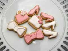 accessory cookies (nikkicookiebaker) Tags: decorated