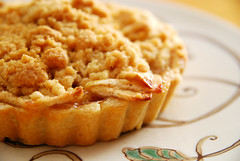 Finished Dutch Apple Tart.