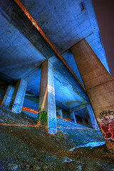 Urban Nightscout Serie 4-27 (Sebastian T.) Tags: city urban streets night highway industrial nocturnal wastelands ghettos