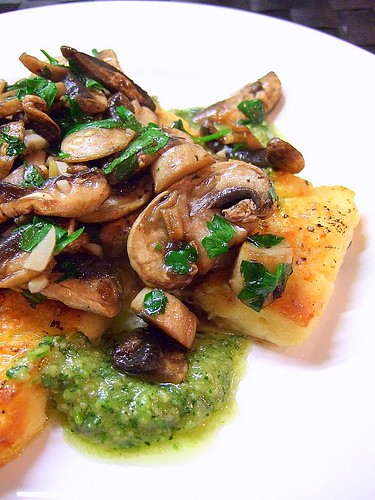 gnocchi with mushrooms 1