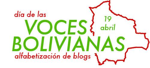 Logotipo para Día de las Voces Bolivianas