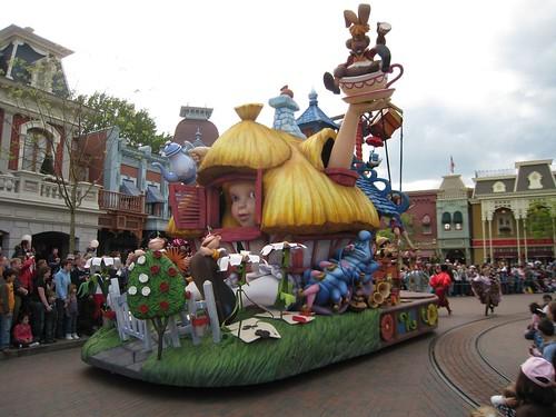 Alice nel Paese delle Meraviglie a Disneyland