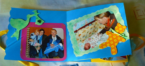 A quick scrapbook for the grandparents