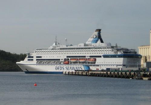 The Copenhagen-Oslo boat