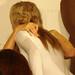 Paris Hilton e Sabrina Parisi si abbracciano