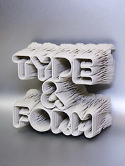 printed & photographed (toxi) Tags: ca typography 3d fabbing 3dprint processingorg fdm printmag z450 thinglab