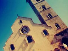 cattedrale trani (bluarancio85) Tags: photoshop chiesa campanile puglia cattedrale trani