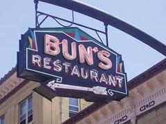 Bun's sign
