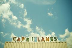 Capri Lanes (chrisglass) Tags: sign retro bowling bowlingalley dayton daytonoh caprilanes