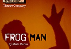 Frog Man's hand, Edinburgh Festival Fringe poster