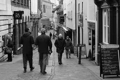 The Wildman [39/365 2017] (steven.kemp) Tags: norwich street shot wildman pub people blackandwhite monochrome bedford cashpoint candid urban pedestrian bo bang olufson olufsen shop jarrolds thorns travel centre