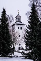 church and trees (Mange J) Tags: 50mmf17 k3ii magnusjakobsson pentax sverige sweden värmland church cold freezing outdoor snow snowing winter värmlandslän se