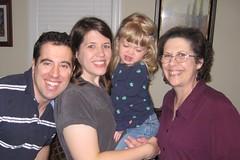 Chris, me, Catie & Mimi