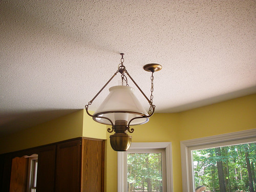 A Long Overdue Ceiling Fan Upgrade For The Kitchen Where