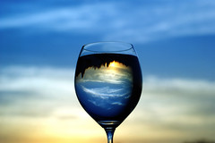 #DSCB7710- Evening Glass (crimsonbelt) Tags: sunset glass indonesia evening wine explore soe balikpapan flickrduel gmofreeworld