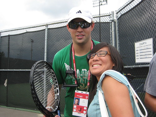 Bob Bryan and Isabelle Chrun