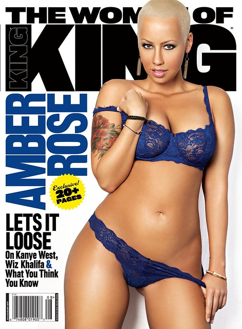 amber Rose covers The Women of King Magazine