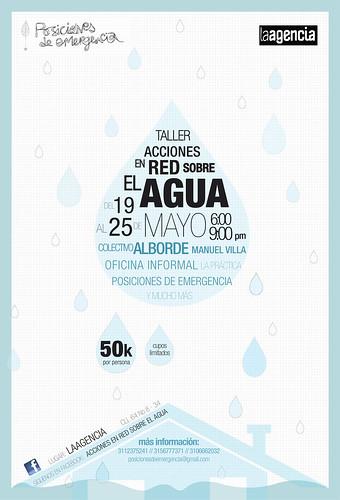 Acciones en red sobre el agua. Taller Particular en Bogotá