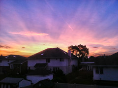 Oak Lawn - 6.2.11 - Sunrise (Jeff Minarik) Tags: blue sunset orange house color weather clouds sunrise photography illinois cool oak lawn suburbs hdr