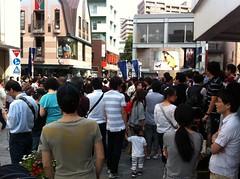 横浜元町大混雑