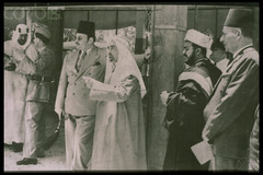 King Farouk and Arab Monarches