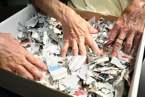 Fent paper reciclat