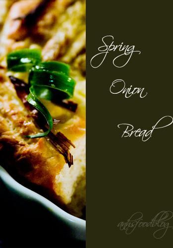 Spring Onion Bread