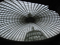 impressive old glass roof