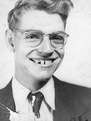 Is it him? (hunter..) Tags: portrait smile face tooth lyrics funny humorous antique teeth humor humour nostalgia grin nostalgic antiques oldpictures fangs oldpicture dantucker blackandwhitephotography missingteeth badteeth vintageportrait oldschoolphotos olddantucker americannostalgia nostalgicimages oldblackandwhitephotos oldblackandwhitepictures