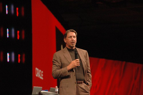 Oracle CEO,Larry Ellison