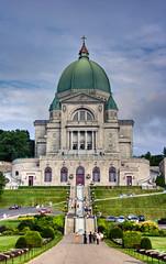 Oratoire St-Joseph (Luc Deveault) Tags: canada church stairs stair montral quebec stjoseph qubec luc glise escalier hdr escaliers oratoire photoquebec deveault lucdeveault