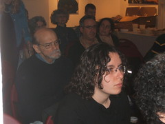 Audience; Asya Vaisman in foreground