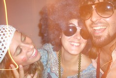 Carol, Dani e Tiago (Rufa!) Tags: party brazil hair hippie festa tropicalismo