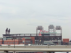 Citizens Bank Park from I-95